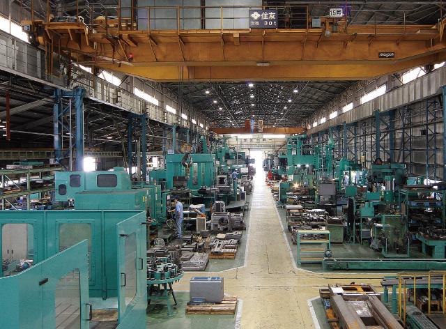 Mechanical processing plant